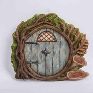 Blue  Burrow Fairy Door