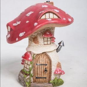 Traditional Red Toadstool Cottage