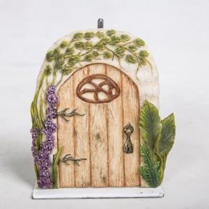 Washed Oak Fairy Door