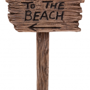 MW08-018 To The Beach Sign